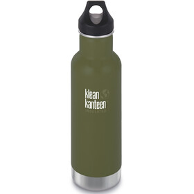 Klean Kanteen Classic Vacuum Insulated Bottle Loop Cap 592ml, fresh pine